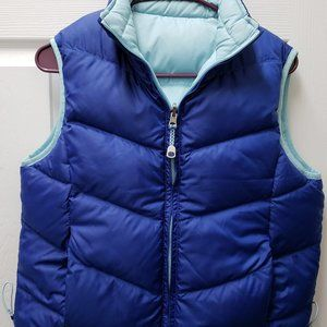 L.L.Bean Womens Reversible Puffer Vest size Small
